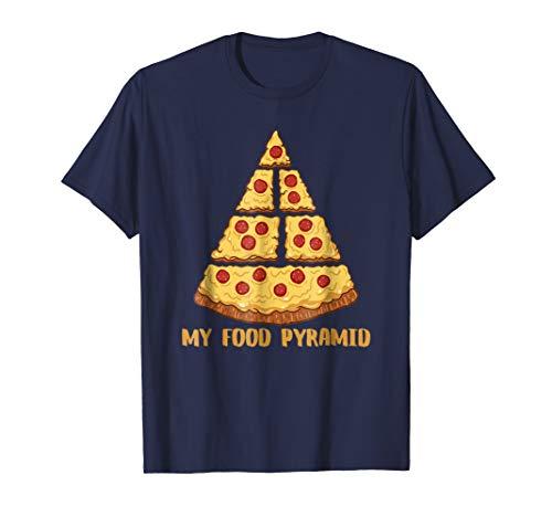 food pyramid pizza shirt - 2