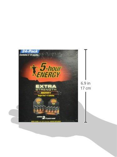 5-Hour Energy Extra Strength Nutritional Drink, Berry, 46.32 Ounce