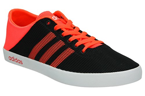 adidas VS EASY VULC SEA - Zapatillas deportivas para Hombre, Negro - (NEGBAS/ROJSOL/FTWBLA) 41 1/3