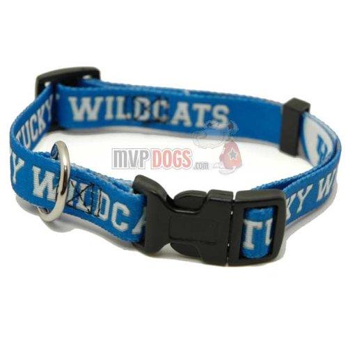 """Kentucky Wildcats NCAA Dog Collar M: 14-18"""" length, 3/4"""" width"""