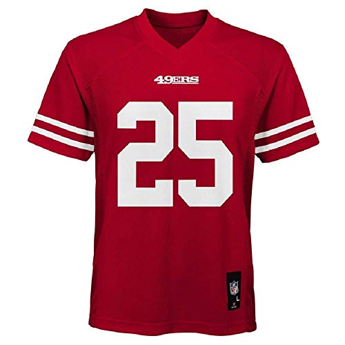 Outerstuff Richard Sherman San Francisco 49ers NFL Youth Red Home Mid-Tier Jersey (Youth Medium 10-12)