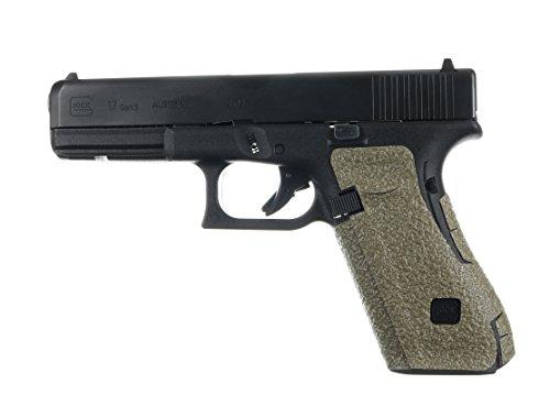 TALON Grips for Glock 17, 22, 24, 31, 34, 35, 37 (Gen5 Medium Backstrap, Rubber-Moss)