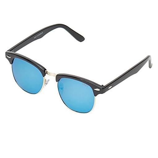 Vast UV Protection Unisex Club Master Sunglasses CMBLACK