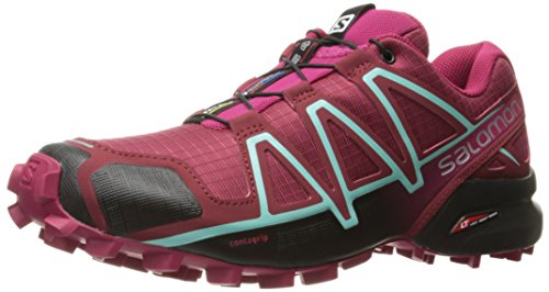 Salomon Damen Speedcross 4 Traillaufschuhe Tibetan Red/Sangria/Black