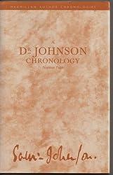 A Dr Johnson Chronology (Author Chronologies Series)