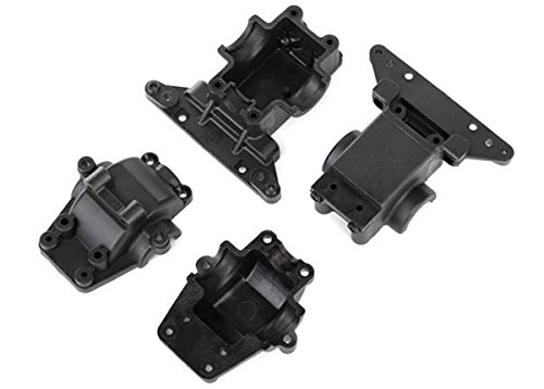 Traxxas 7530 Front & Rear Bulkhead / Differential Housing (Rear Differential Housing)