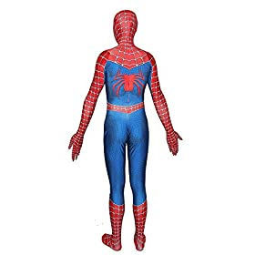 - 41JbVWTQwuL - KILLYCOS Unisex Lycra Spandex Zentai Halloween Cosplay Costumes Adult/Kids 3D Style