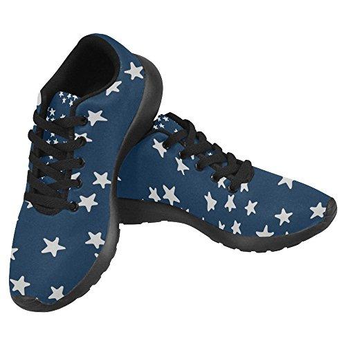 Interestprint Mujeres Jogging Running Sneaker Ligero Go Easy Walking Casual Comfort Zapatillas De Running Multi 14