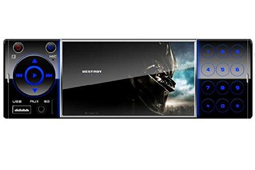 Car Audio,UPSZTEC 4.1inch car radio,1 DIN Car Stereo - 64gb Mp3 Mp4 Player