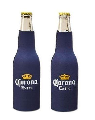 Corona Extra Beer Bottle Suit Holder Cooler Kaddy Huggie Coolie Set of 2 Corona Beer Coolers
