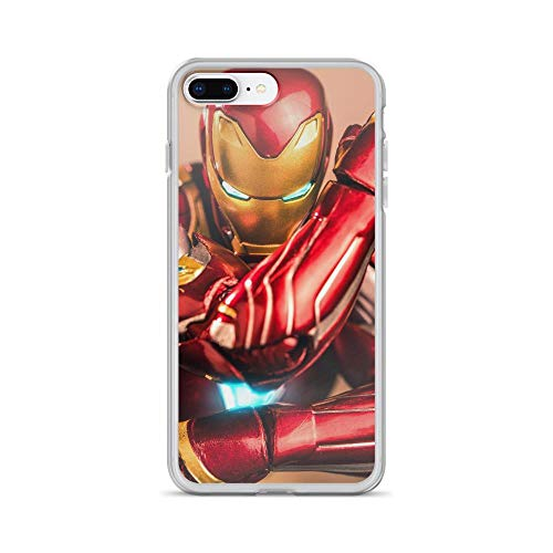Tony Ironman Stark Avengerss Superhero Stan-lee Movie Comic New Shockproof Clear Case for iPhone 7 Plus/8 Plus