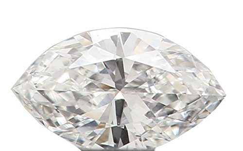 Natural Loose Diamond Marquise E Color VVS1 Clarity 4.20 MM 0.095 Ct N7717 ()