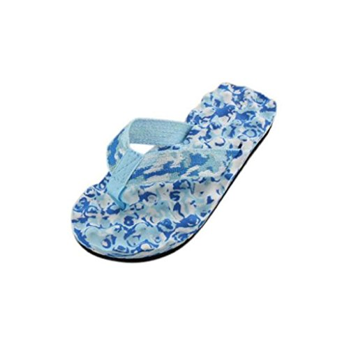 For Blue Summer Sandals Slippers Flop Flip Mapletop Women's 67qpZX1