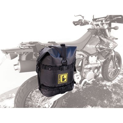 Wolfman Luggage Expedition Dry Saddlebags EX505 Black ()