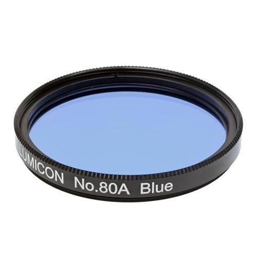Lumicon Color / Planetary Filter #80A Blue - 2'' # LF2070 by LUMICON