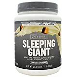 Cytosport Sleeping Giant Vanilla Caramel Nighttime Protein Supplement Powder – with Melatonin & Tryptophan (1.8lb) Review