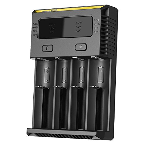Nitecore 2016 Version i4 Intellicharger Battery Charger