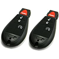Pair of OEM Electronic Dodge Keyless Entry Remote Fobs FOBIK (FCC ID: IYZ-C01C)