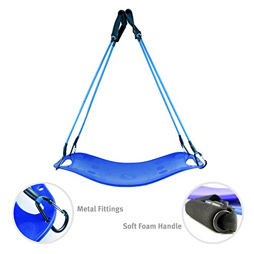 Balance Fit Board with 4 Resistance Bands- Fitness Board for Full Body Exercise- Non-Slip& Sturdy Design- Great for Indoor and Outdoor Workouts- Great for Shoulders, Arms, Abs& Legs Intensive Workouts – DiZiSports Store