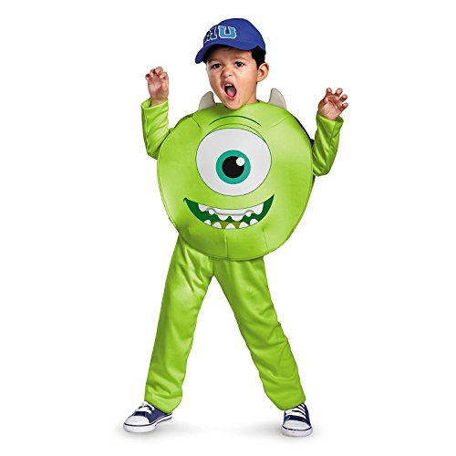 [Disguise Mike, Monsters University, Size 4-6] (Sully Monsters Inc Costume)