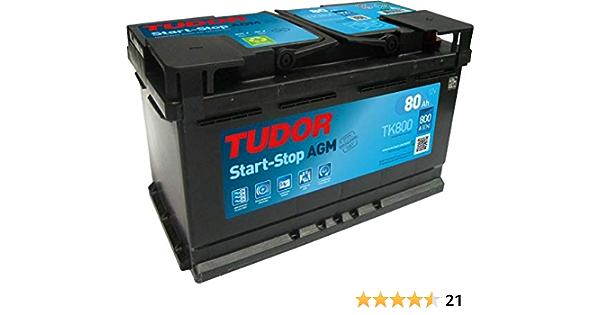 TUDOR TK800 Batería automoción