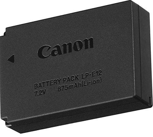 New LP-E12 LP E12 Battery Pack for Canon EOS M M10 EOS Rebel SL1 EOS 100D EOS M2 M50 M100 Digital Camera
