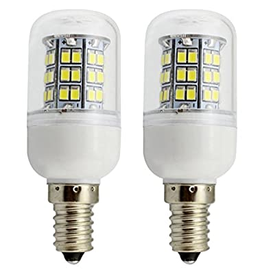 Uniox 2 Pack Solar Power 12V-24 Volt Default Candelabra E12 LED Bulb 4 Watts 360 Lumens 48pcs LEDs Warm White 3000K