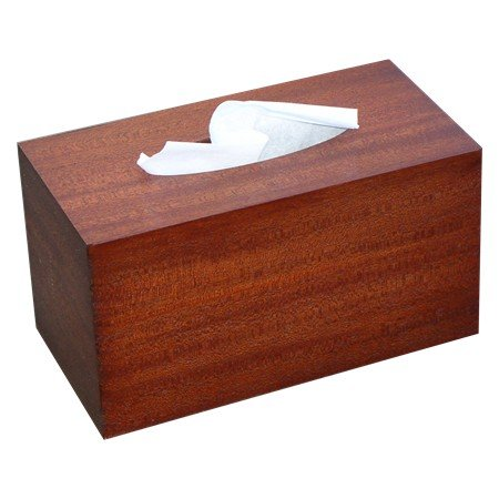 [Wooden Tissue Box Cover Antique Mahogany Veneer Rectangular Family Size. (Kleenex Opening With] (Mounted Animal Head Costume)
