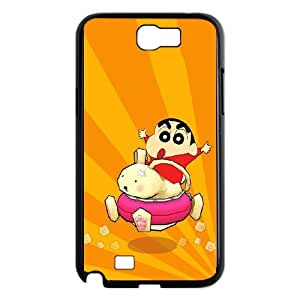 Crayon Shin chan Samsung Galaxy N2 7100 Cell Phone Case Black HFL