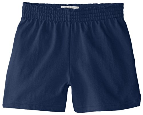 Soffe Big Girls' New Soffe Short, Navy, Medium