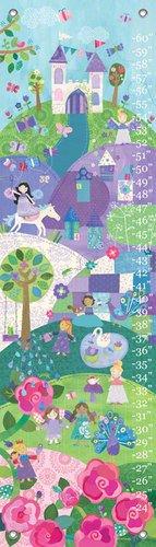 12 by 42-Inch Oopsy Daisy Enchanted Land by Jill McDonald Growth Charts