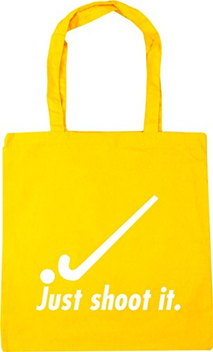 x38cm it Yellow HippoWarehouse Tote Just Bag 42cm Gym shoot Shopping litres hockey 10 Beach aw41vxwq