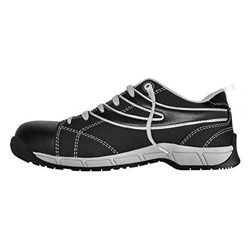 SUPERGA Chaussure Basse de Travail Nubuk Noir