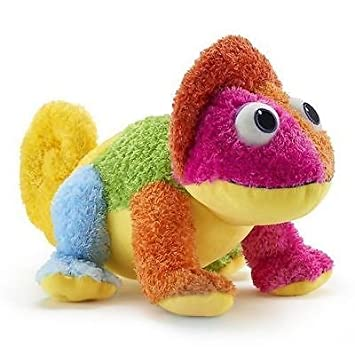 14 plush chameleon book character a color of his own - A Color Of His Own Book