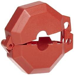 Accuform Signs KDD470 STOPOUT Gate Valve Lockout, Fits Valve Handle Diameter 1\