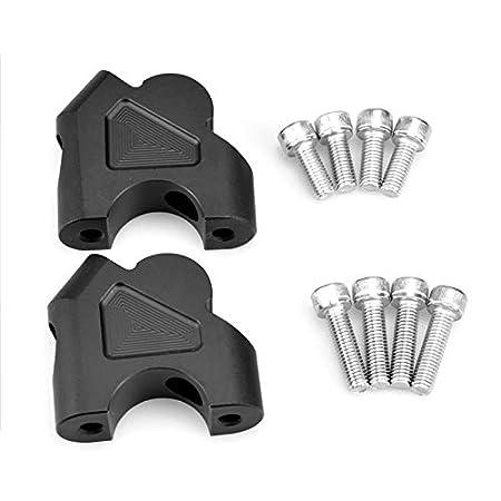 For BMW R1200GS LC 2013-2019 R 1200 GS LC ADV 2014-2019 R1250GS ADV 2019 R 1250 GS 2019 Motorcycle CNC Handlebar Bar Risers Kit Silver