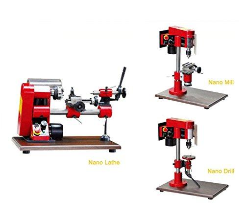 N1 3 in 1 Nano Lathe kit/SIEG 150W Mini Multi-function Lathe machine/Drill & Mill & Lathe Machine by MUCHENTEC