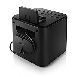 Philips AJ3200/37 Universal Charging Clock Radio (Black)