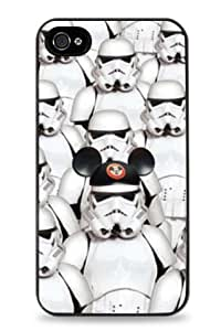 Storm Trooper Disney Mickey Mouse iPhone 6 (4.7 inch) i6 Hard Case - Black- 2020