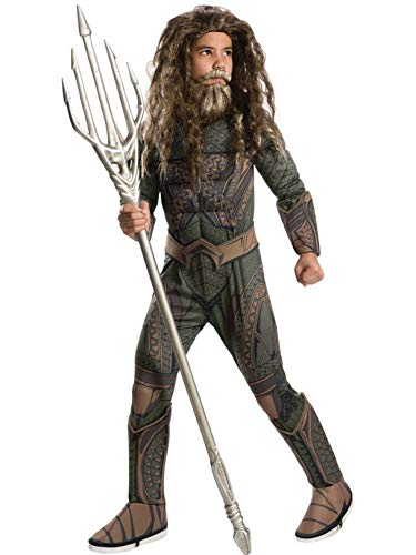 Rubie's Justice League Child's Deluxe Aquaman Costume, Small