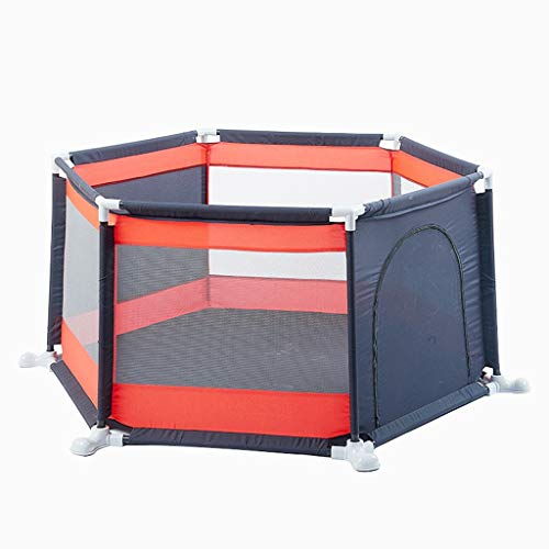 ZYH 子供用ゲームフェンス、家庭用オーシャンボールプールベビー室内遊び場幼児フェンス幼児安全保護フェンス138 * 67CM 広いスペース (色 : A)