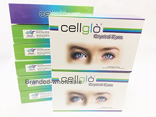 8 boxes Cellglo crystal eyes health vision care for eye carotenoid Lutein Astaxanthin by Cellglo