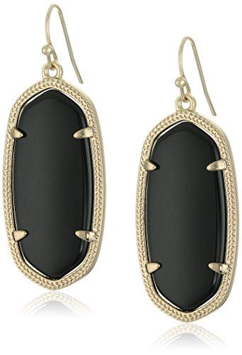 Kendra Scott Women's Elle Earring Black Onyx Earring