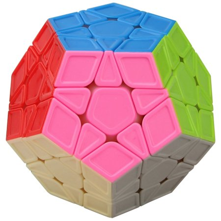 Duo Sculpture (Funs® Ultra Smooth 12 Sides Megaminx Speed Cube Twisty Puzzle Sculpture Stickerless)