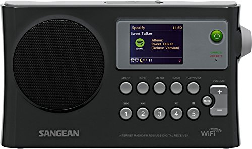 Sangean WFR-28 Internet Radio / FM-RBDS / USB / Network Music Player Digital Receiver with Color Display