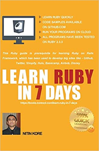 LEARN RUBY IN 7 DAYS: Ruby tutorial for Guaranteed quick
