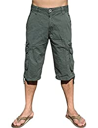 a316895847 MENS MILITARY-STYLE CARGO POCKET SHORTS #91S-1 sizes:30-54