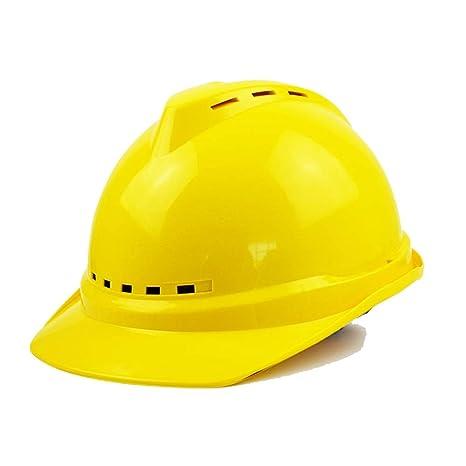 JU FU Casco Casco de Seguridad - construcción de Verano ...