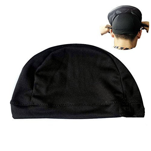 le CoolMax Material Helmet Liner Hat Summer Quick Drying Helmet Skull Cap for Bicycle Motorcycle Hockey (L, 22.8-25.2