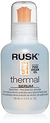 RUSK Designer Collection Thermal Serum with Argan Oil, 4.2 fl. oz.